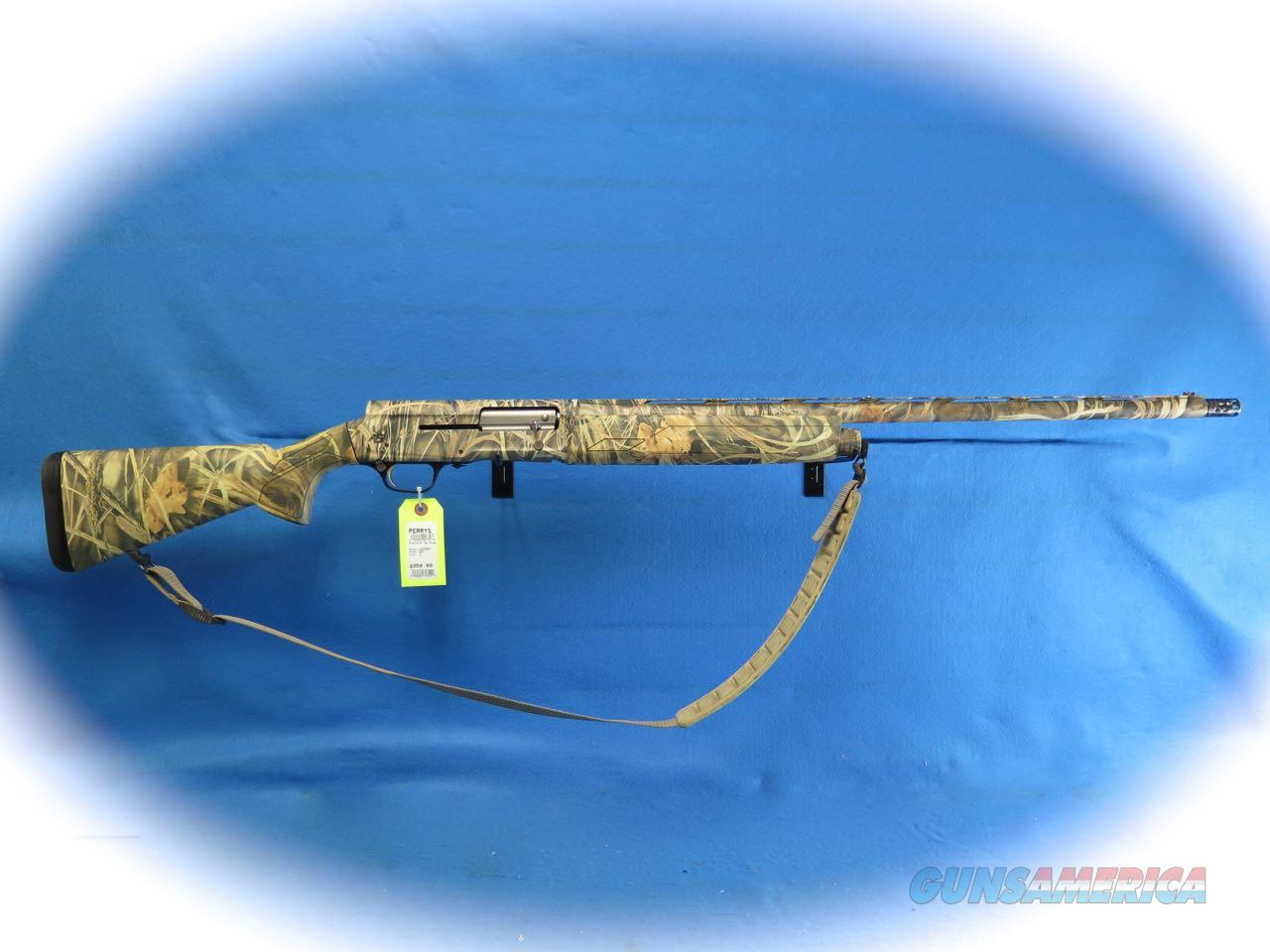 Browning A-5 12 Ga. Semi Auto Shotgun Max-4 Camo **Used**  Guns > Shotguns > Browning Shotguns > Autoloaders > Hunting