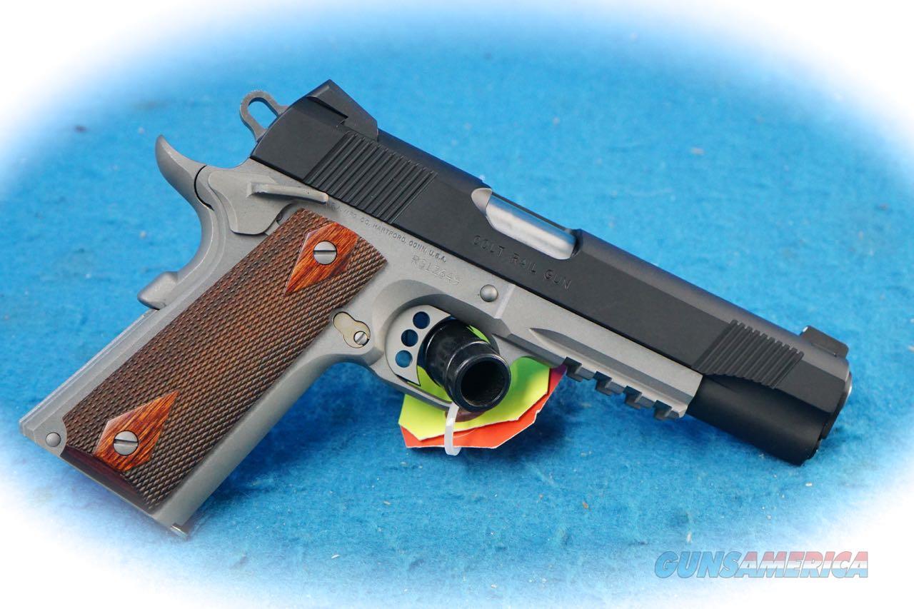 "Colt 1911 Government Railgun XSE .45 ACP Pistol **New** ""ON SALE""  Guns > Pistols > Colt Automatic Pistols (1911 & Var)"