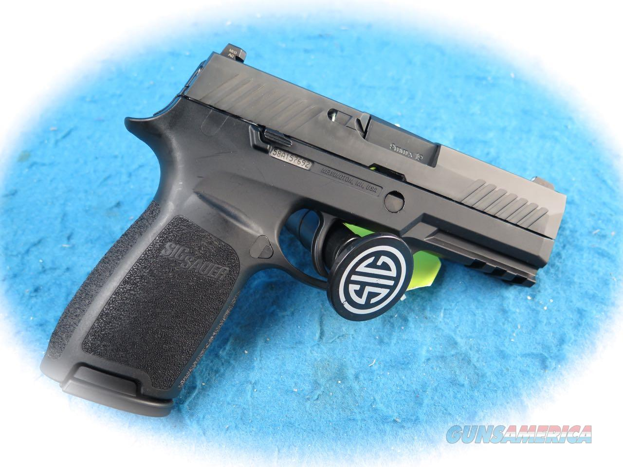 Sig Sauer P320 Nitron Carry 9mm Pistol Model 320CA-9-BSS **New**  Guns > Pistols > Sig - Sauer/Sigarms Pistols > P320