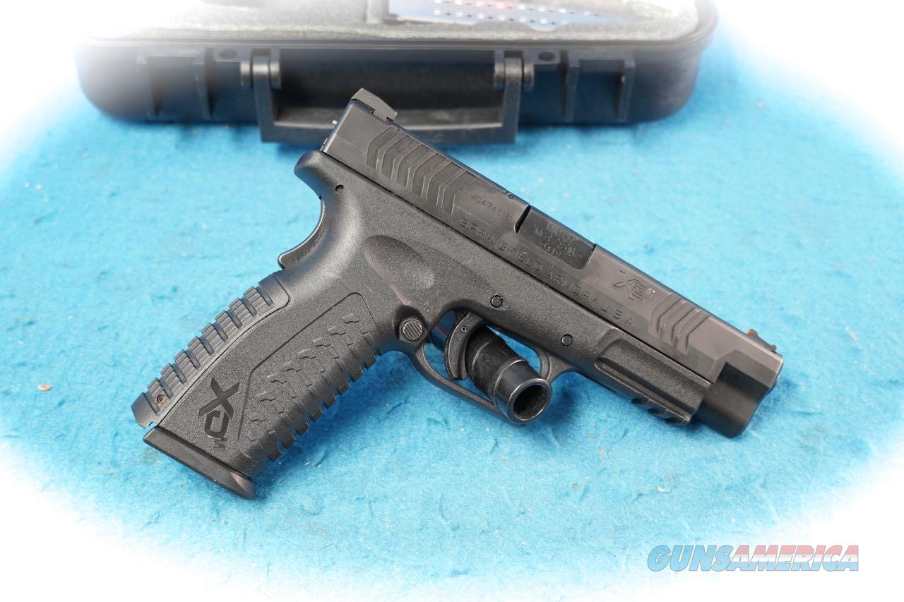 Springfield Armory XD-m 4.5 Pistol 9mm  **Used**  Guns > Pistols > Springfield Armory Pistols > XD-M