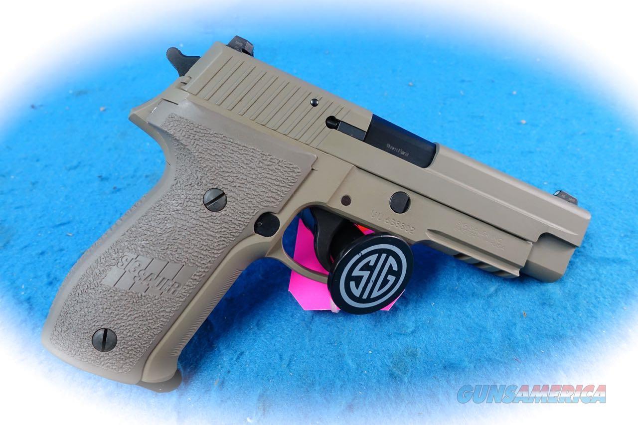 Sig Sauer P226 9mm Semi Auto DA/SA Pistol **Used**  Guns > Pistols > Sig - Sauer/Sigarms Pistols > P226