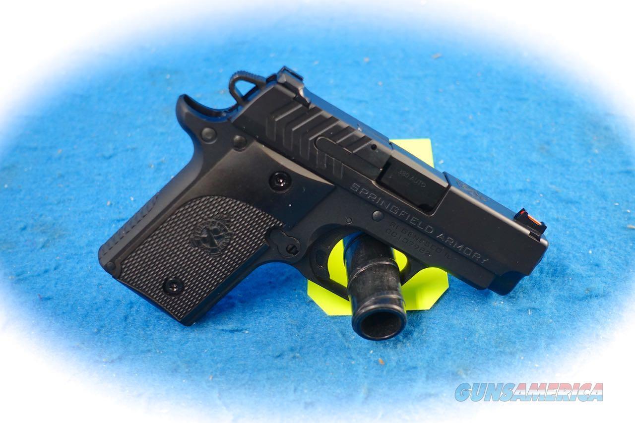 Springfield Armory 911 Alpha .380 ACP Pistol Model PG9108 **New**  Guns > Pistols > Springfield Armory Pistols > 911