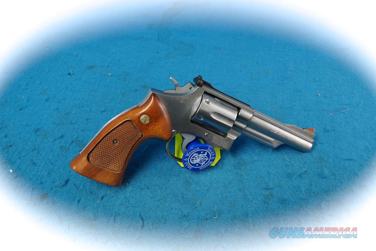 "Smith & Wesson Model 66-1 SS .357 Mag Revolver 4"" BBL **Used**  Guns > Pistols > Smith & Wesson Revolvers > Med. Frame ( K/L )"