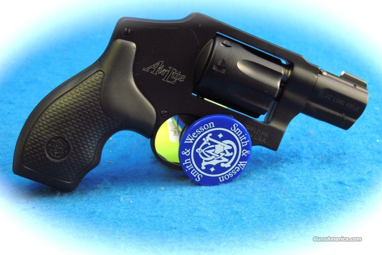 Smith & Wesson Model 43C .22LR 8 Shot Revolver **New**  Guns > Pistols > Smith & Wesson Revolvers > Pocket Pistols