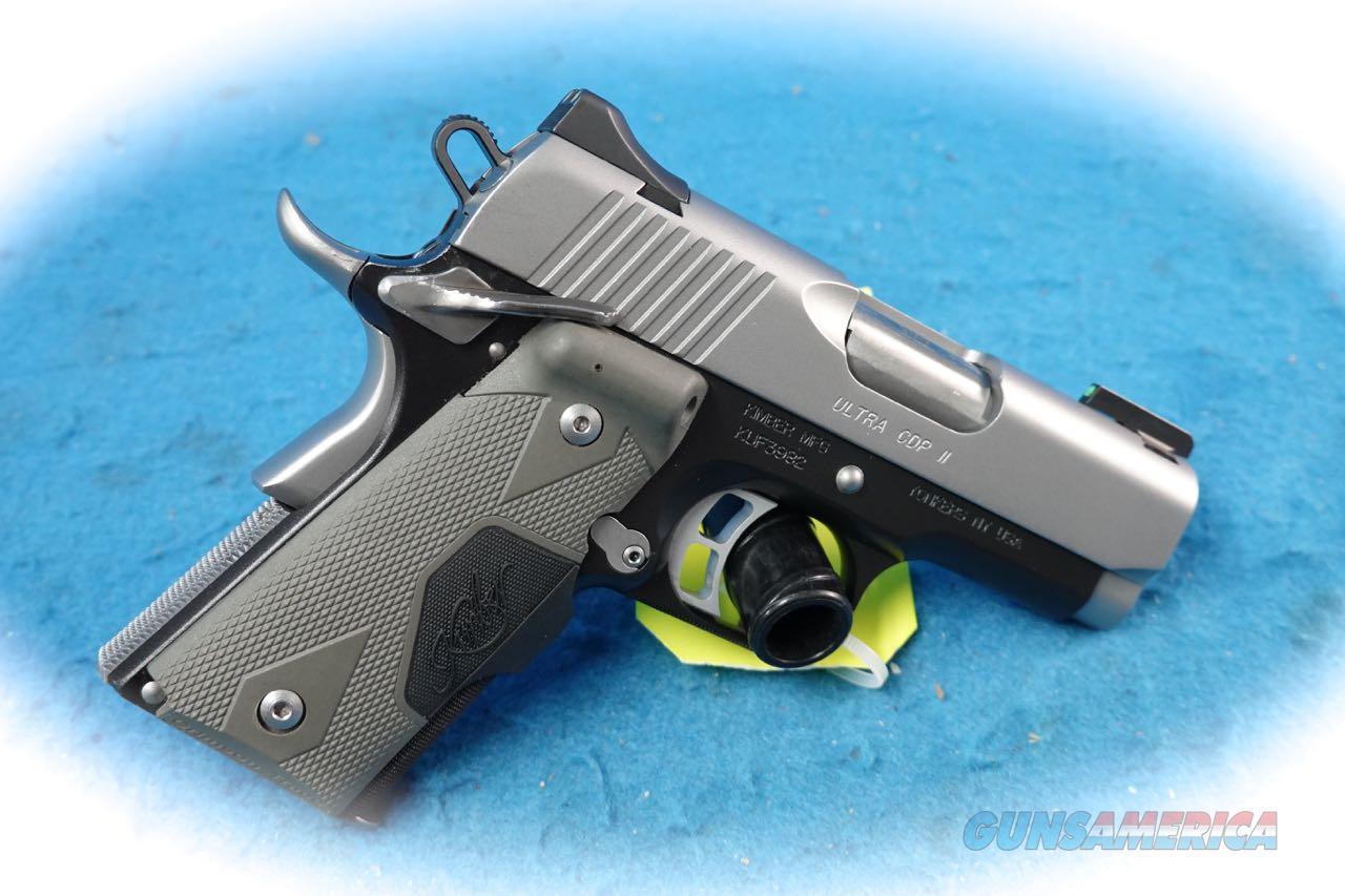 Kimber 1911 Ultra CDP II 9mm Custom Shop Pistol **Used**  Guns > Pistols > Kimber of America Pistols > 1911