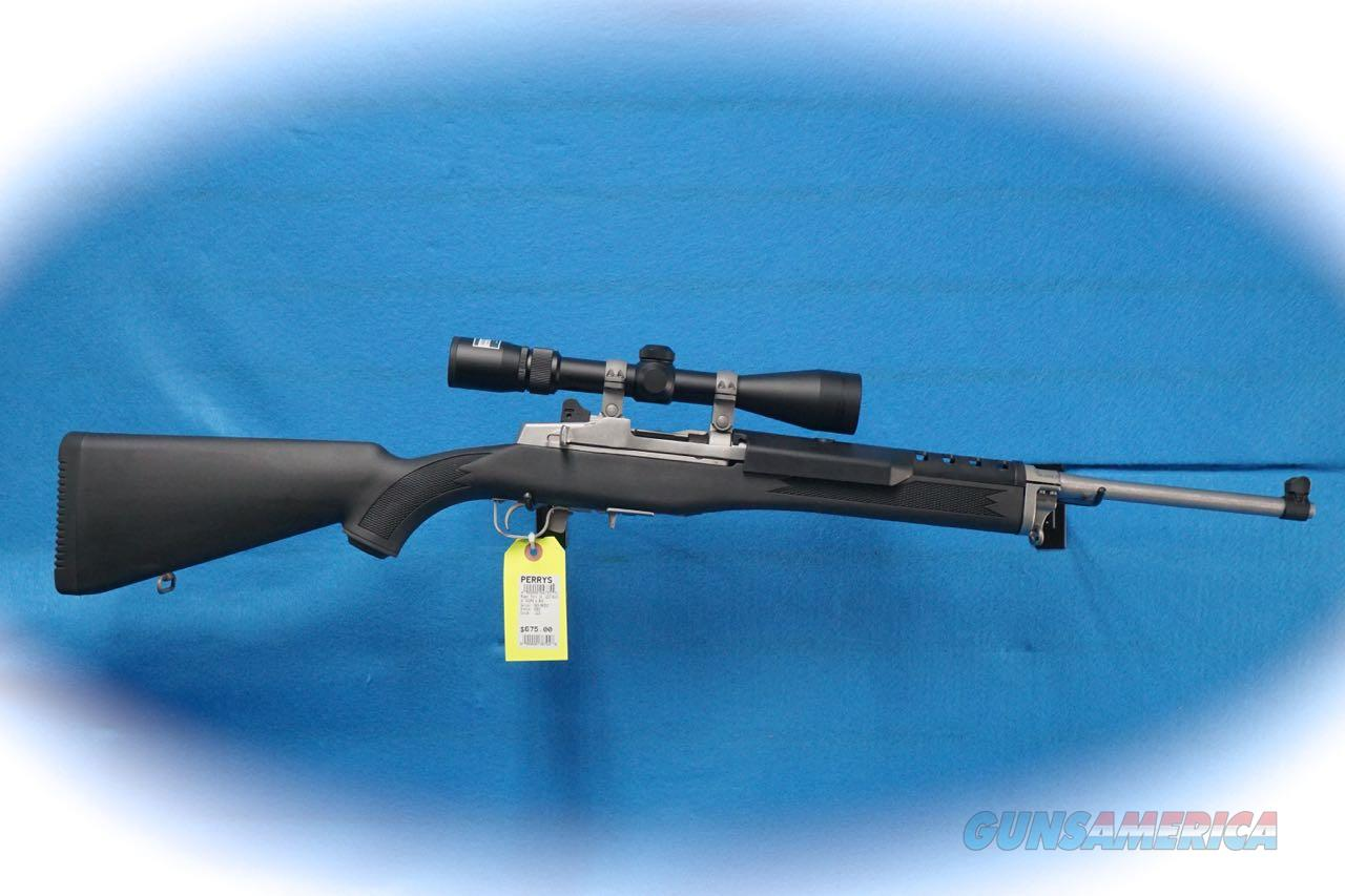 Ruger Mini-14 Ranch Rifle 5.56mm Cal W/Nikon Scope **Used**  Guns > Rifles > Ruger Rifles > Mini-14 Type