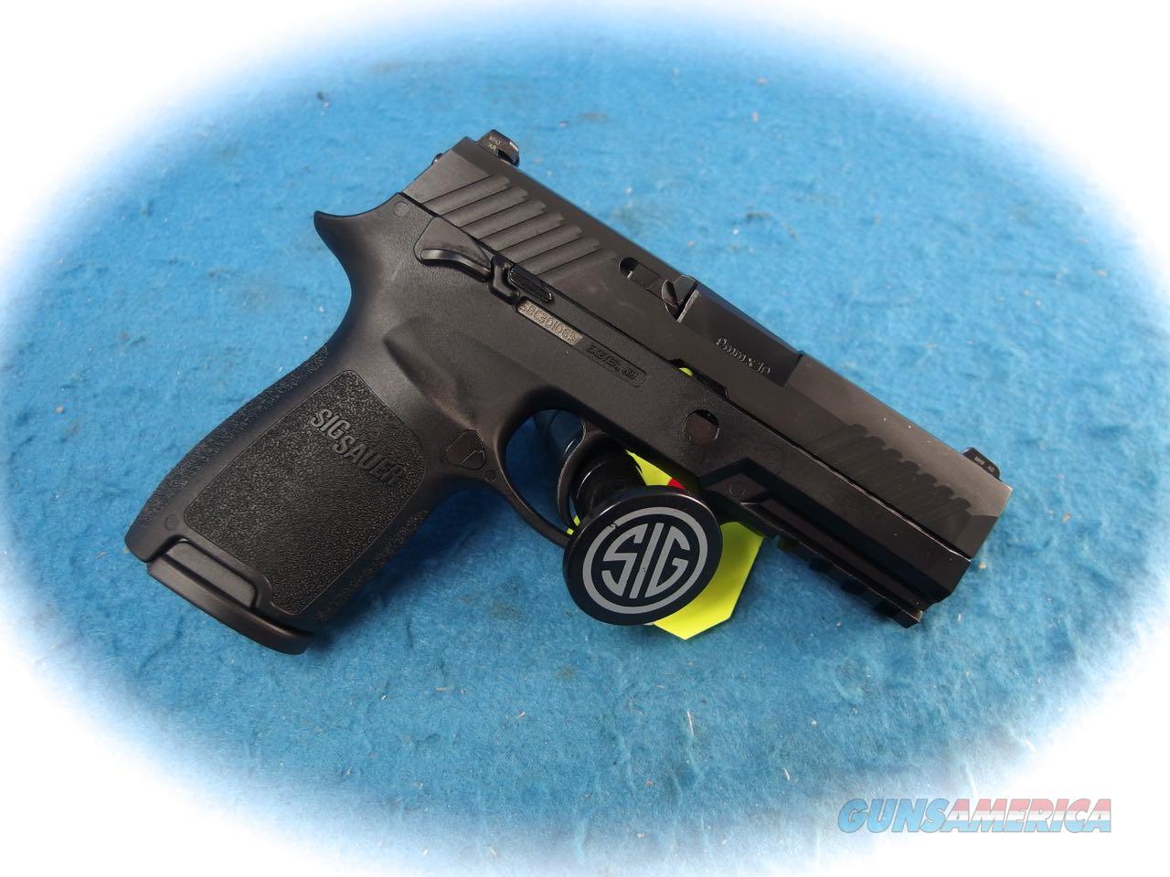 Sig Sauer P320C Nitron Compact 9mm Pistol Model 320C-9-BSS-MS **New**  Guns > Pistols > Sig - Sauer/Sigarms Pistols > P320