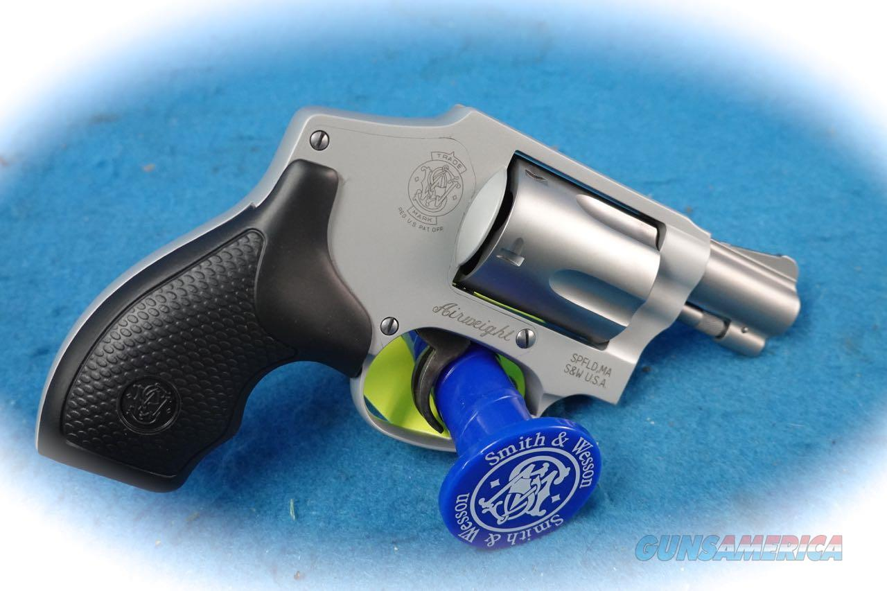 Smith & Wesson Model 642 .38 Special +P Rated 5 Shot Revolver **New**  Guns > Pistols > Smith & Wesson Revolvers > Small Frame ( J )