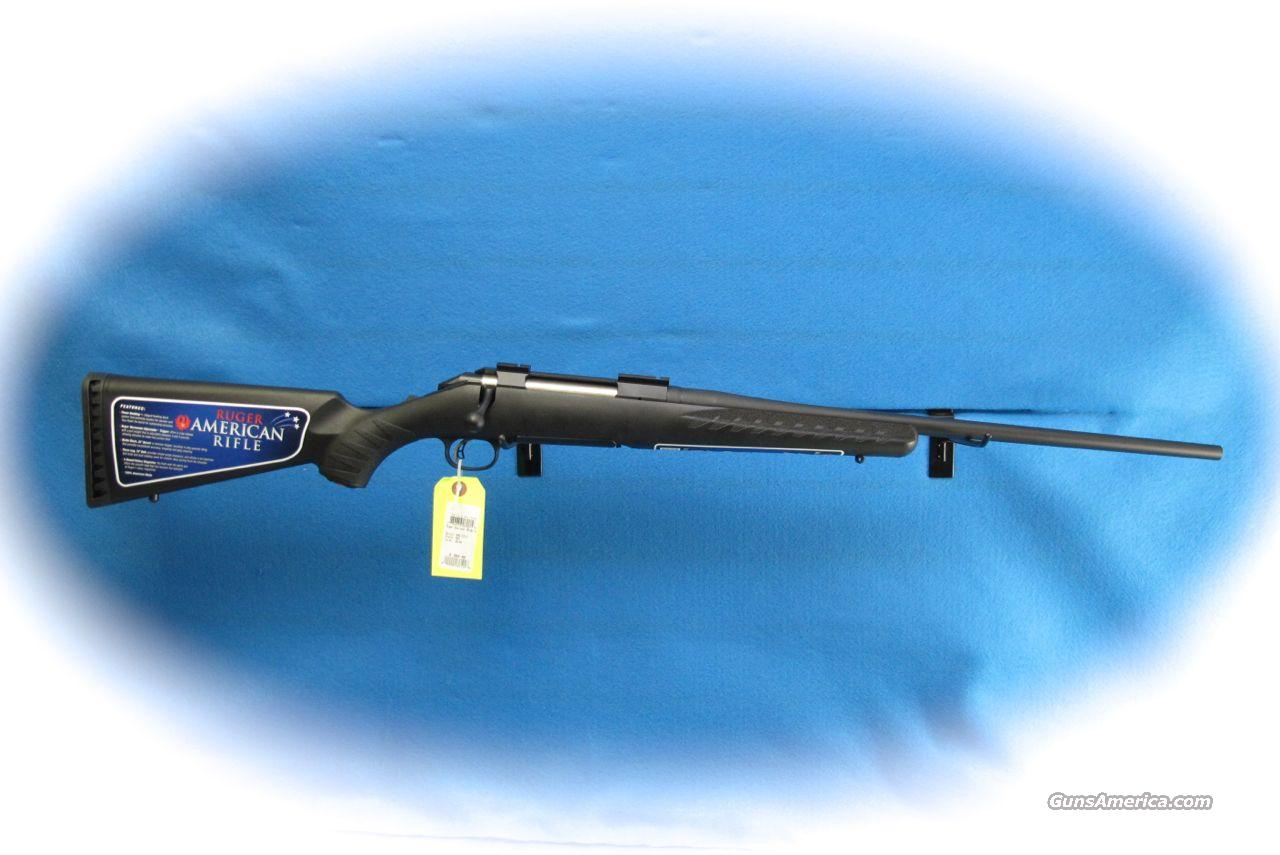 Ruger American Bolt Action .30-06 Rifle Black Synthetic **New**  Guns > Rifles > Ruger Rifles > American