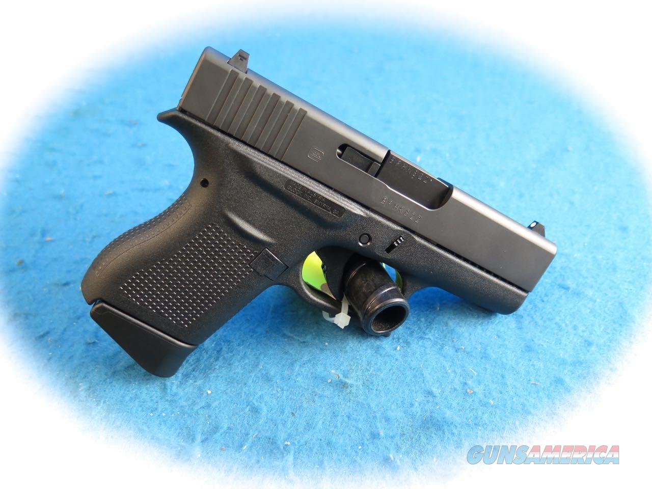 Glock Model 43 9mm Semi Auto Pistol **New**  Guns > Pistols > Glock Pistols > 43