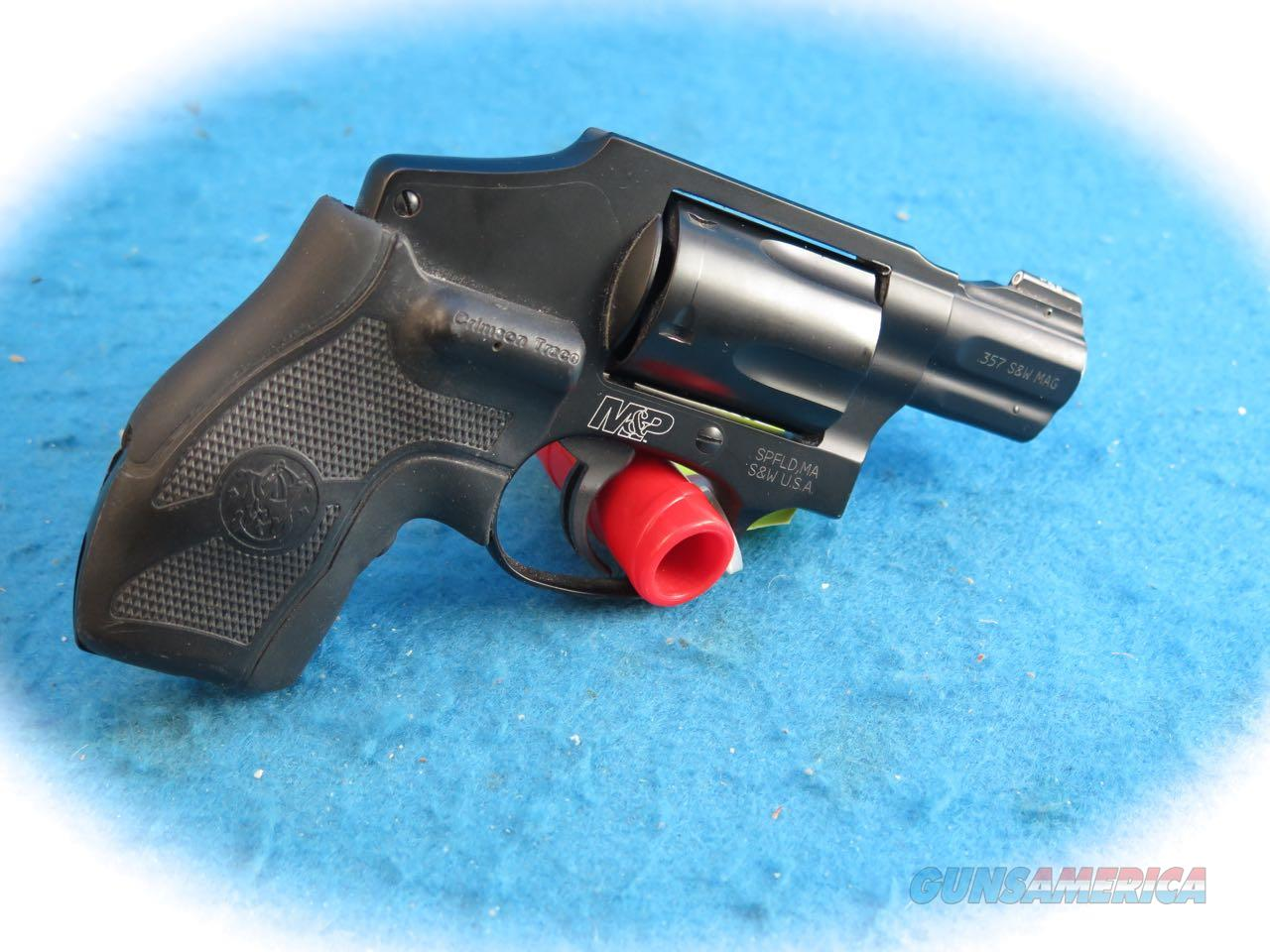 Smith & Wesson Model M&P340 .357 Mag Revolver w/CT Grips **Used**  Guns > Pistols > Smith & Wesson Revolvers > Small Frame ( J )