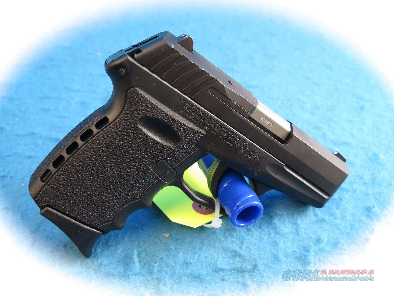 SCCY Model CPX-2 CB Black 9mm Semi Auto Pistol **New**  Guns > Pistols > SCCY Pistols > CPX2