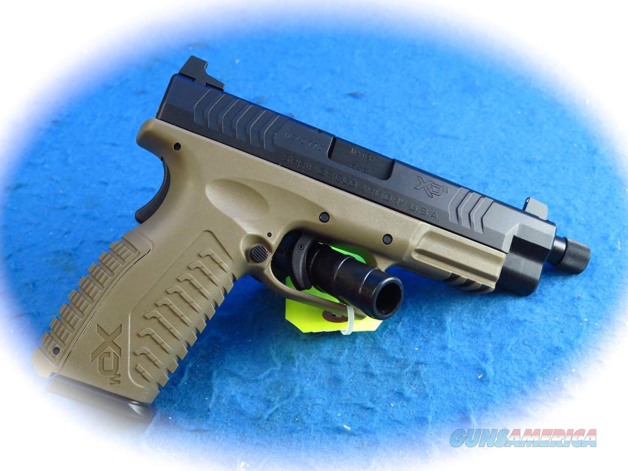 Springfield Armory XD-M 4.5 Full Size 9mm Pistol FDE w/TB **New**  Guns > Pistols > Springfield Armory Pistols > XD-M