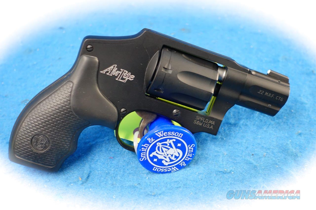 Smith & Wesson Model 351C .22 Magnum Airweight Revolver **New**  Guns > Pistols > Smith & Wesson Revolvers > Small Frame ( J )