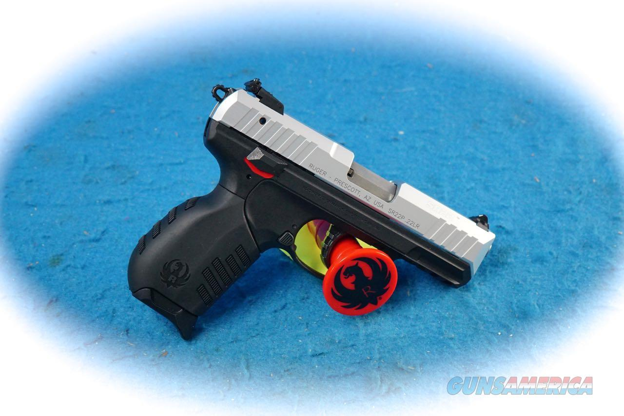 Ruger SR22 Semi Auto .22LR Pistol Model 3607 **New**  Guns > Pistols > Ruger Semi-Auto Pistols > SR Family > SR22