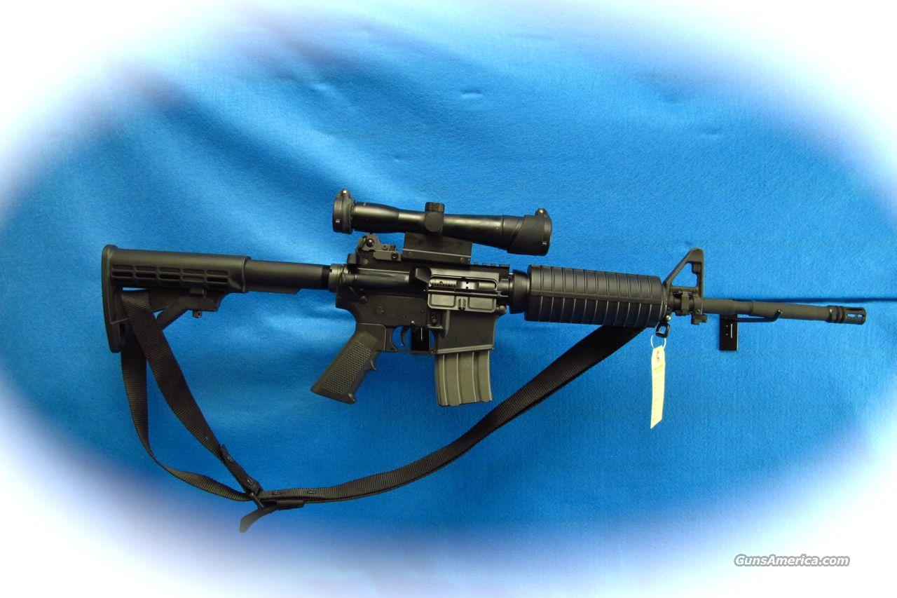 DPMS M4 AR Rifle 5.56/.223 Cal W/ Scope **Used**  Guns > Rifles > DPMS - Panther Arms > Complete Rifle
