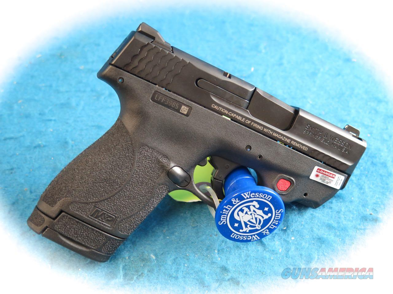 Smith & Wesson M&P Shield M2.0 Pistol 9mm W/Red Laser & EDC Kit **New**  Guns > Pistols > Smith & Wesson Pistols - Autos > Shield