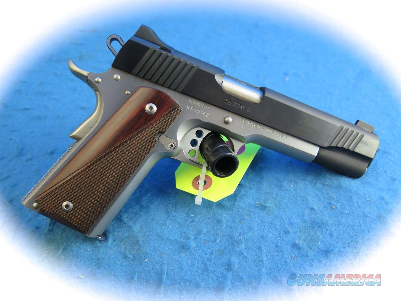 Kimber 1911 Custom II Two-Tone 9mm Pistol **New**  Guns > Pistols > Kimber of America Pistols > 1911