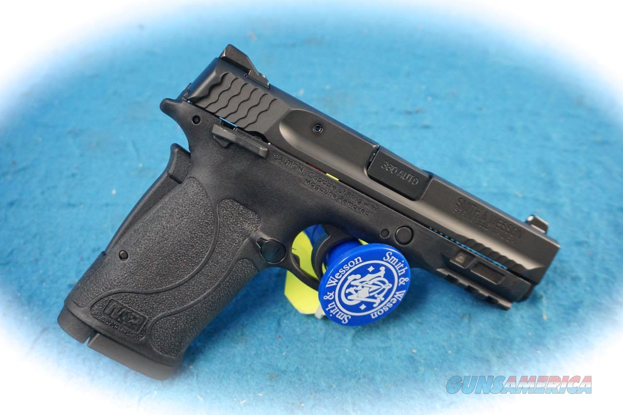 Smith & Wesson M&P 380 Shield 2.0 .380 ACP Cal W/ Thumb Safety **New**  Guns > Pistols > Smith & Wesson Pistols - Autos > Shield