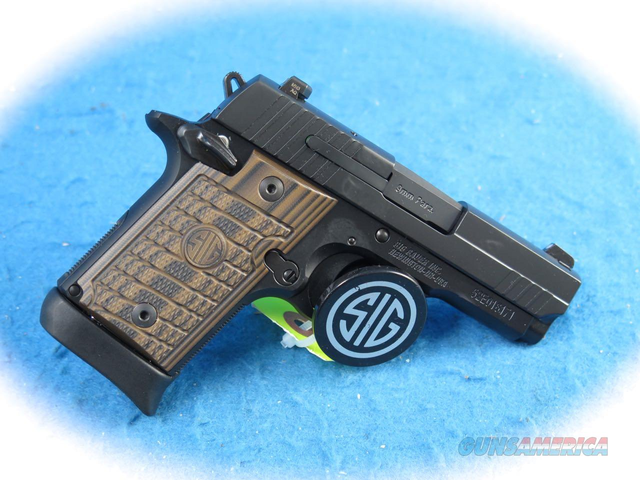 Sig Sauer P938 Select Micro-Compact 9mm Pistol **New**  Guns > Pistols > Sig - Sauer/Sigarms Pistols > P938