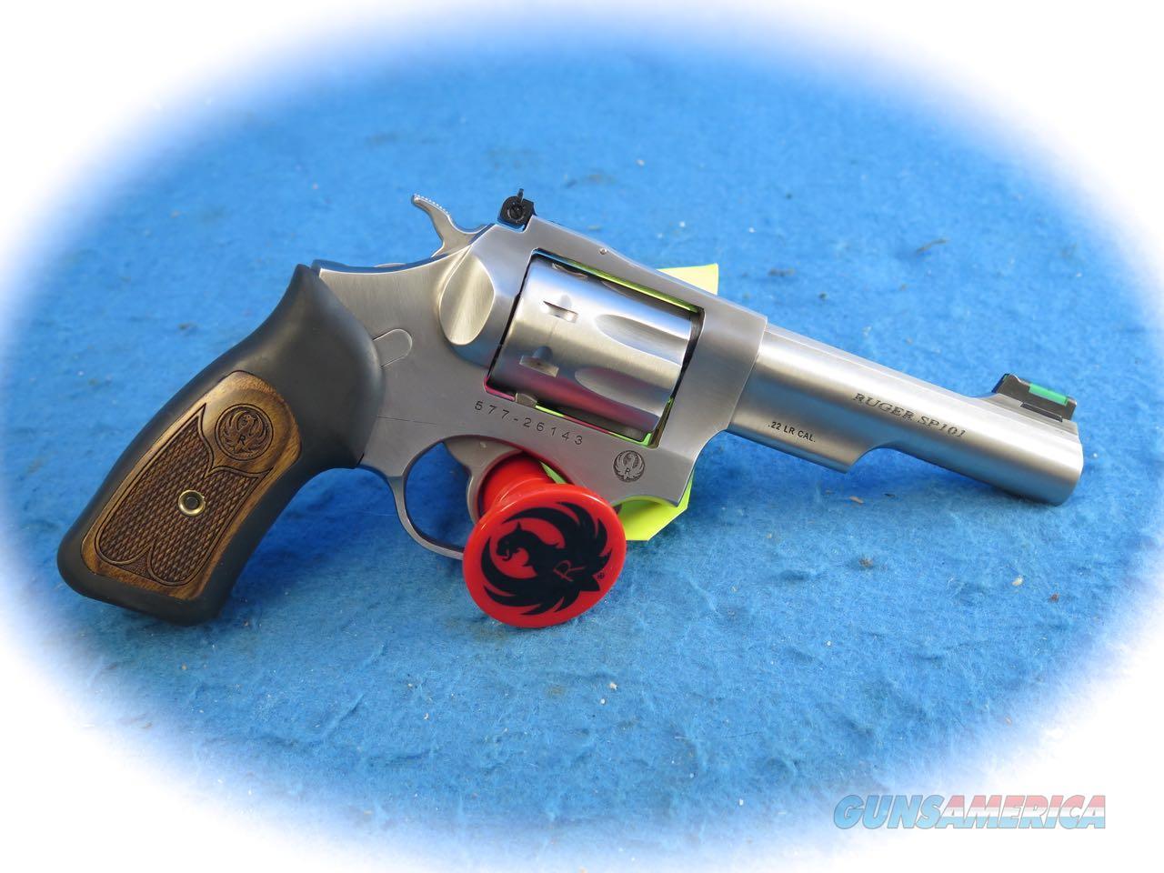 Ruger SP101 .22LR DA SS Revolver Model 5765 **New**  Guns > Pistols > Ruger Double Action Revolver > SP101 Type
