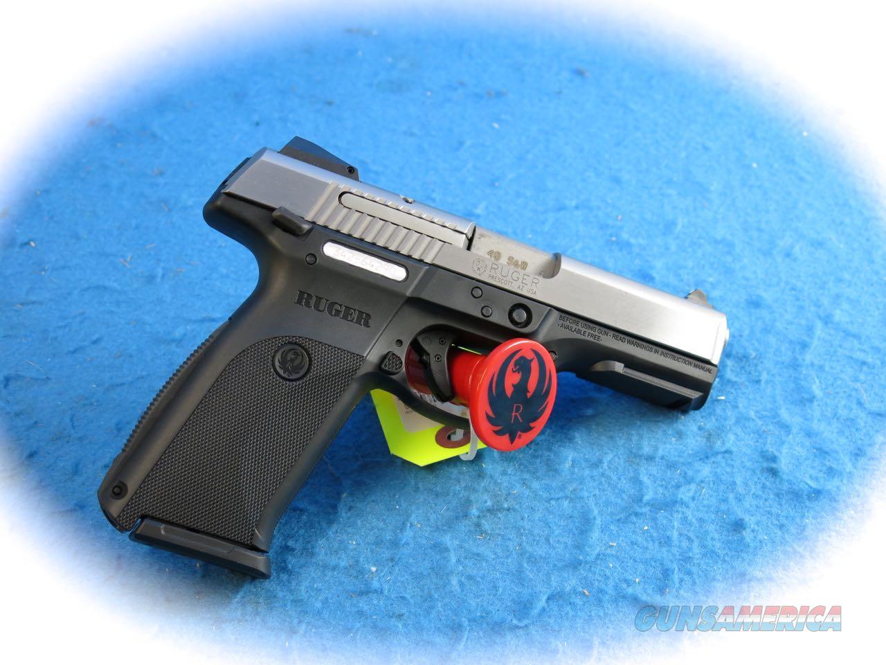 **SALE!!** Ruger SR40 .40 S&W Cal Semi Auto Pistol **New**  Guns > Pistols > Ruger Semi-Auto Pistols > SR Family > SR40