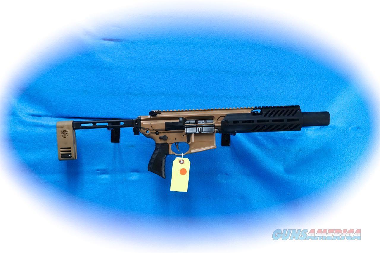 "Sig Sauer - MCX Rattler Canebrake, 300 BLK, 5.5"" Barrel, Folding PCB, Black/Coyote **New**  Guns > Pistols > Sig - Sauer/Sigarms Pistols > Other"