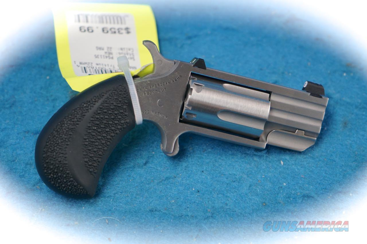 North American Arms Pug .22 Mag Mini Revolver **New**  Guns > Pistols > North American Arms Pistols