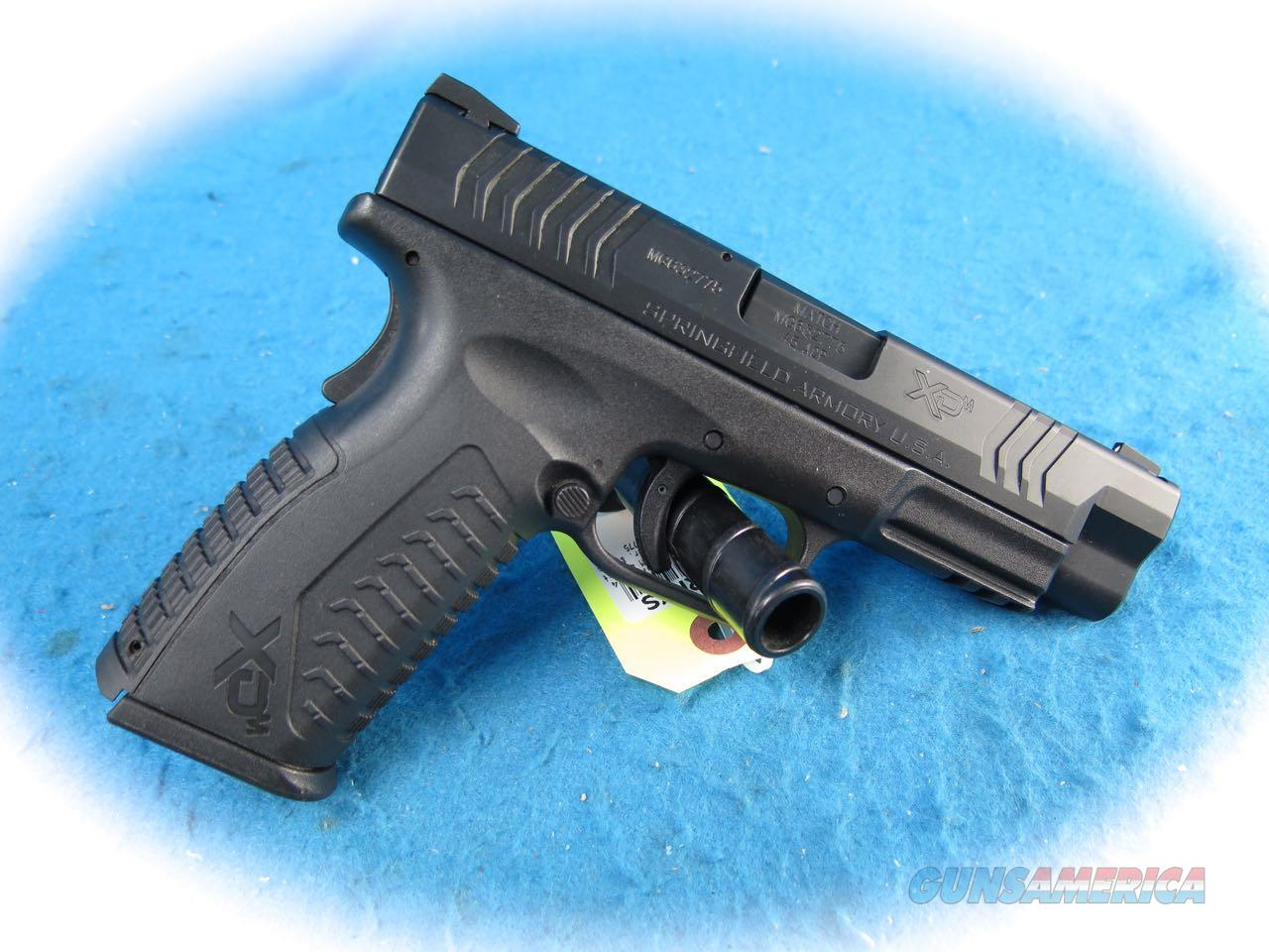Springfield Armory XD-M 4.5 Pistol .45 ACP Cal W/Accessories **Used**  Guns > Pistols > Springfield Armory Pistols > XD-M