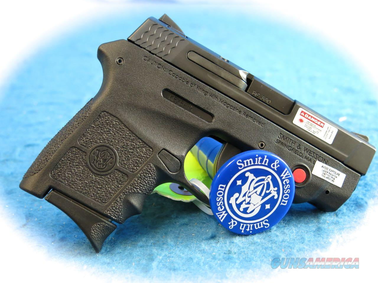 Smith & Wesson M&P Bodyguard 380 W/Crimson Trace Laser **New**  Guns > Pistols > Smith & Wesson Pistols - Autos > Alloy Frame