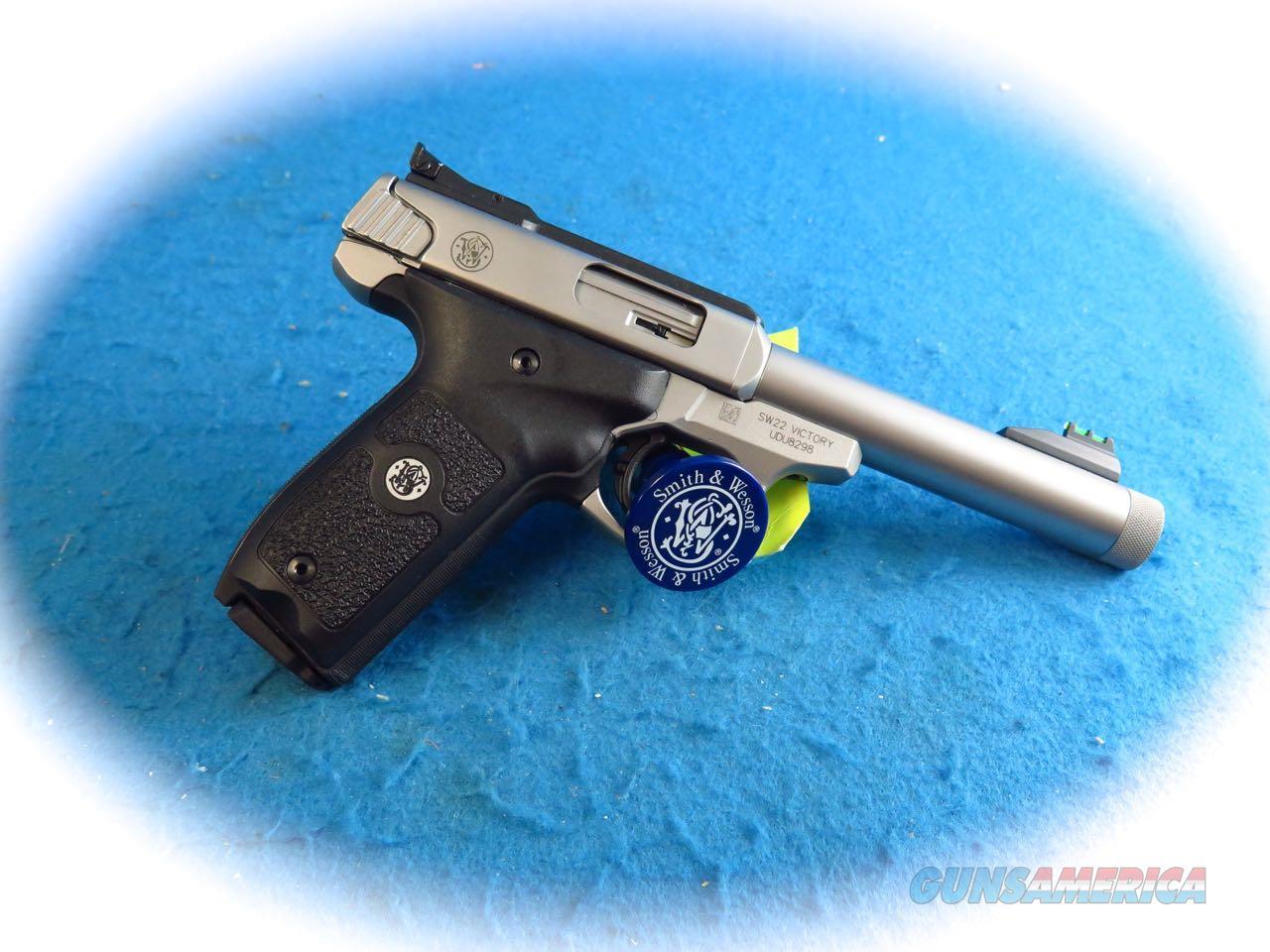 Smith & Wesson Model SW22 Victory .22LR Semi Auto Pistol  W/TB SKU 10201 **New**  Guns > Pistols > Smith & Wesson Pistols - Autos > .22 Autos