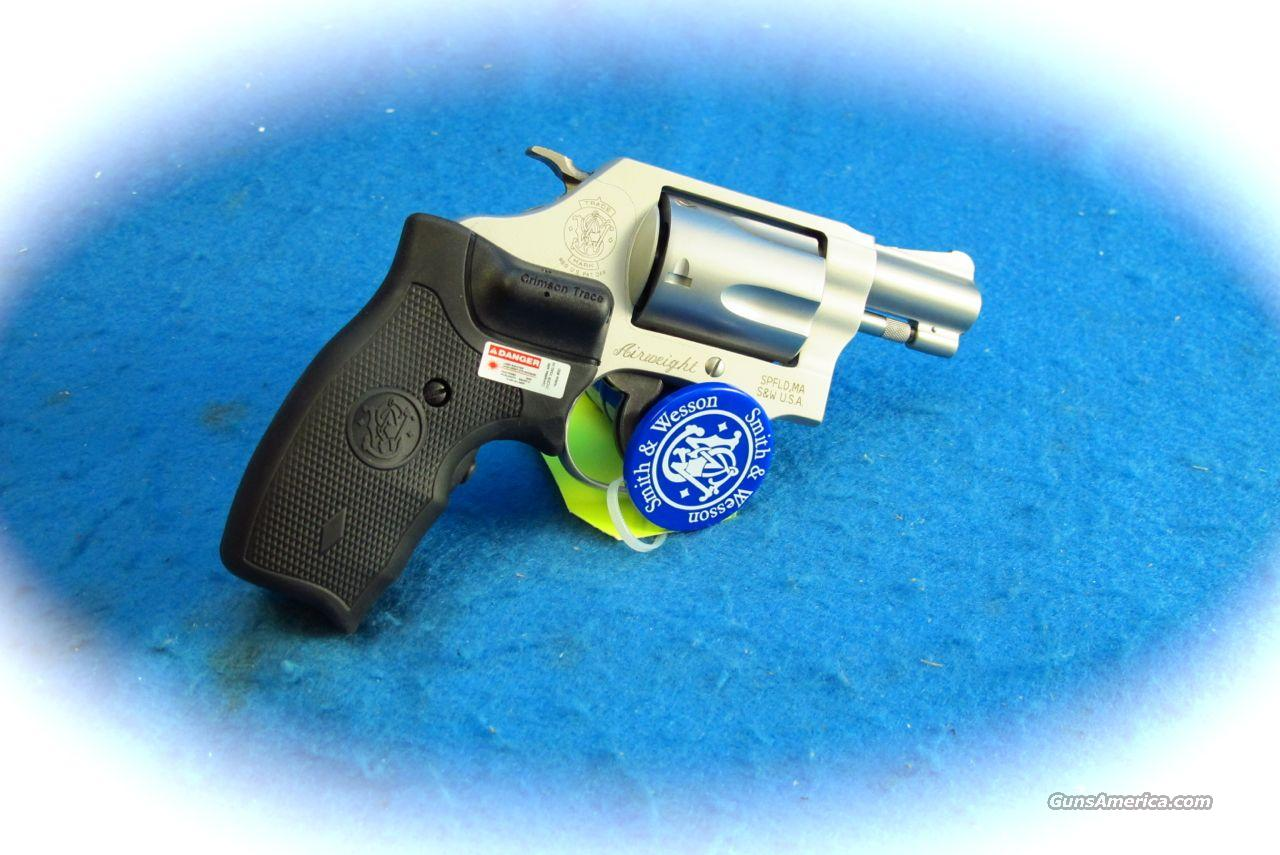 Smith & Wesson Model 637CT 38 Spl Revolver with Laser Grips **New**  Guns > Pistols > Smith & Wesson Revolvers > Pocket Pistols