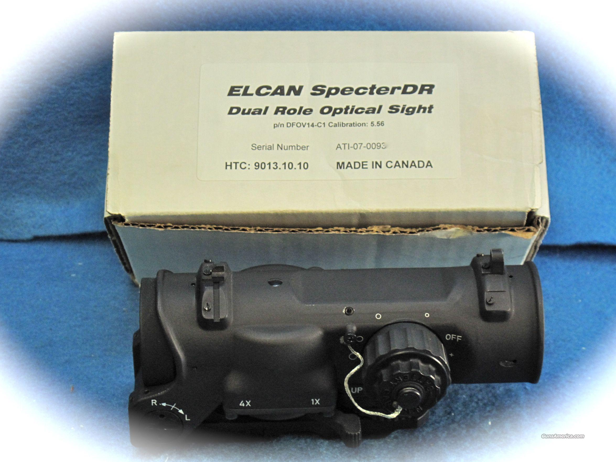 Elcan SpecterDr Dual Role Combat Sight **New** On SALE!!  Non-Guns > Scopes/Mounts/Rings & Optics > Tactical Scopes > Other Head-Up Optics