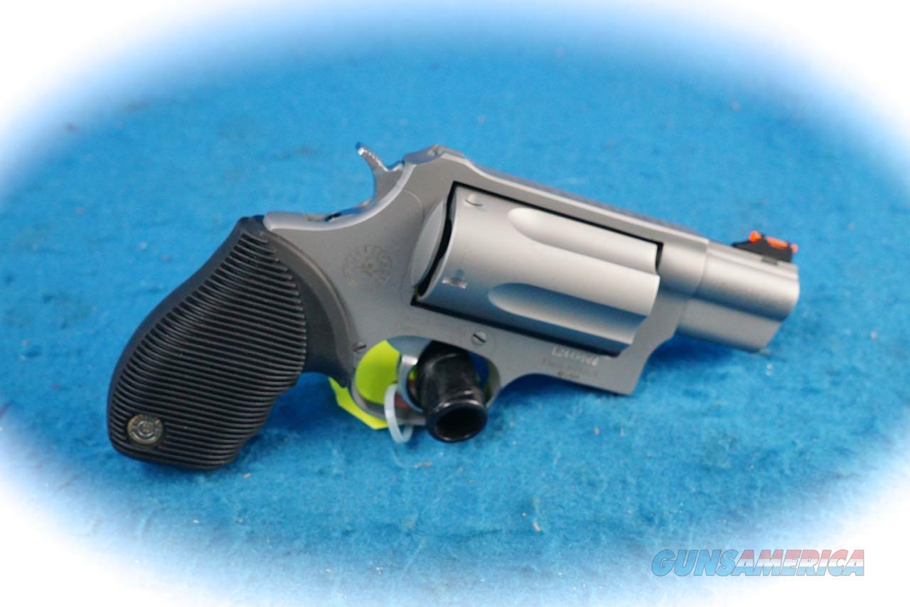 Taurus Judge Public Defender .45 Colt/.410 Gauge 5 Shot SS Revolver **New**  Guns > Pistols > Taurus Pistols > Revolvers