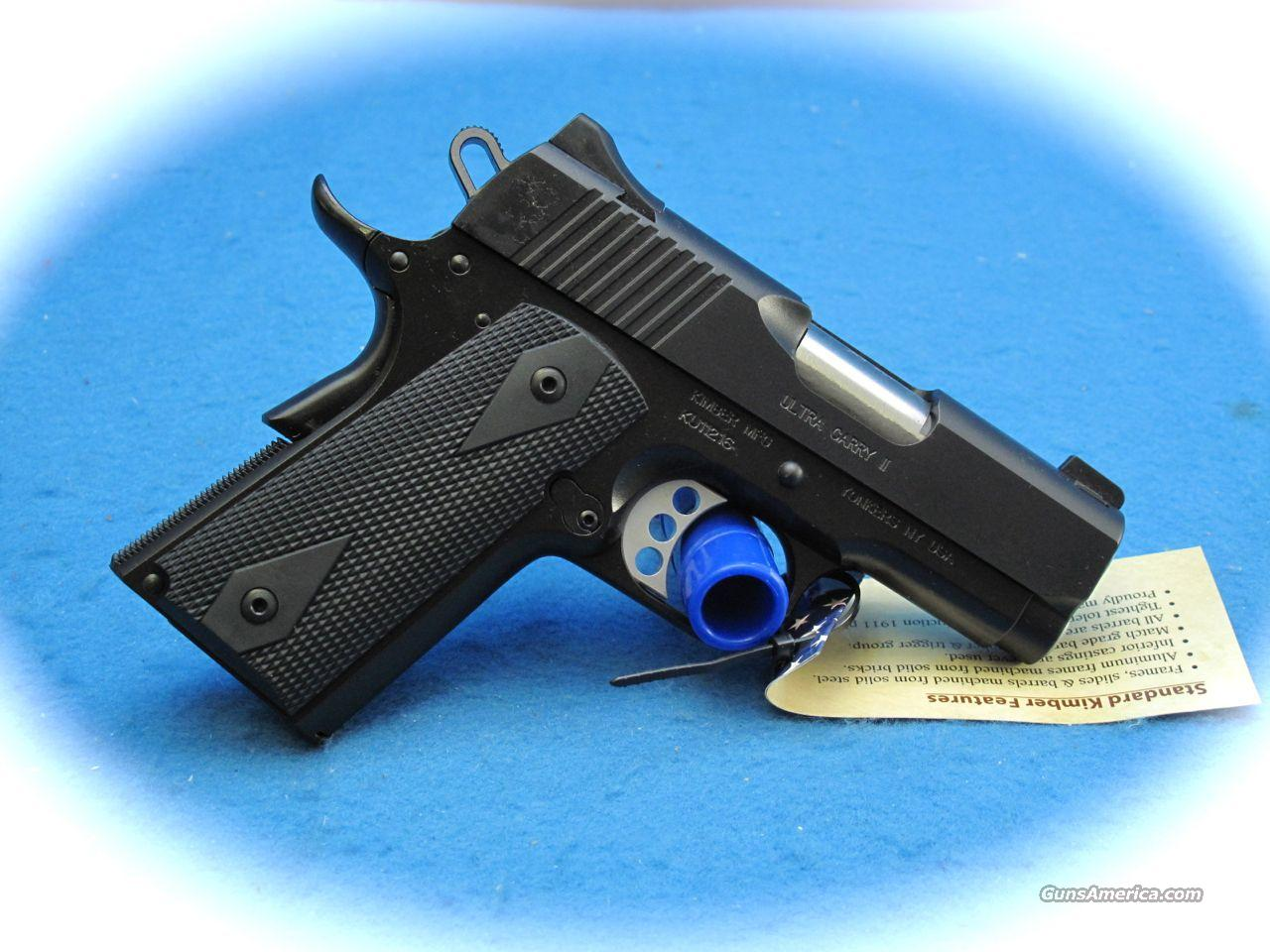 Kimber Ultra Carry II 45 ACP PIstol **NEW**  Guns > Pistols > Kimber of America Pistols