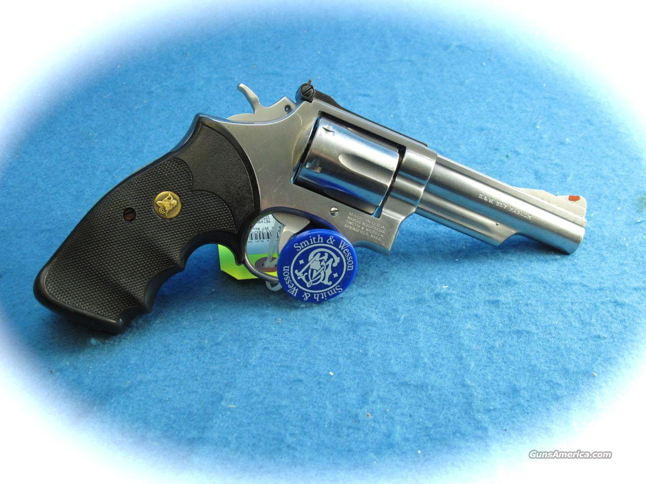Smith & Wesson Model 66-2 357 Mag SS Revolver **USED**  Guns > Pistols > Smith & Wesson Revolvers > Full Frame Revolver