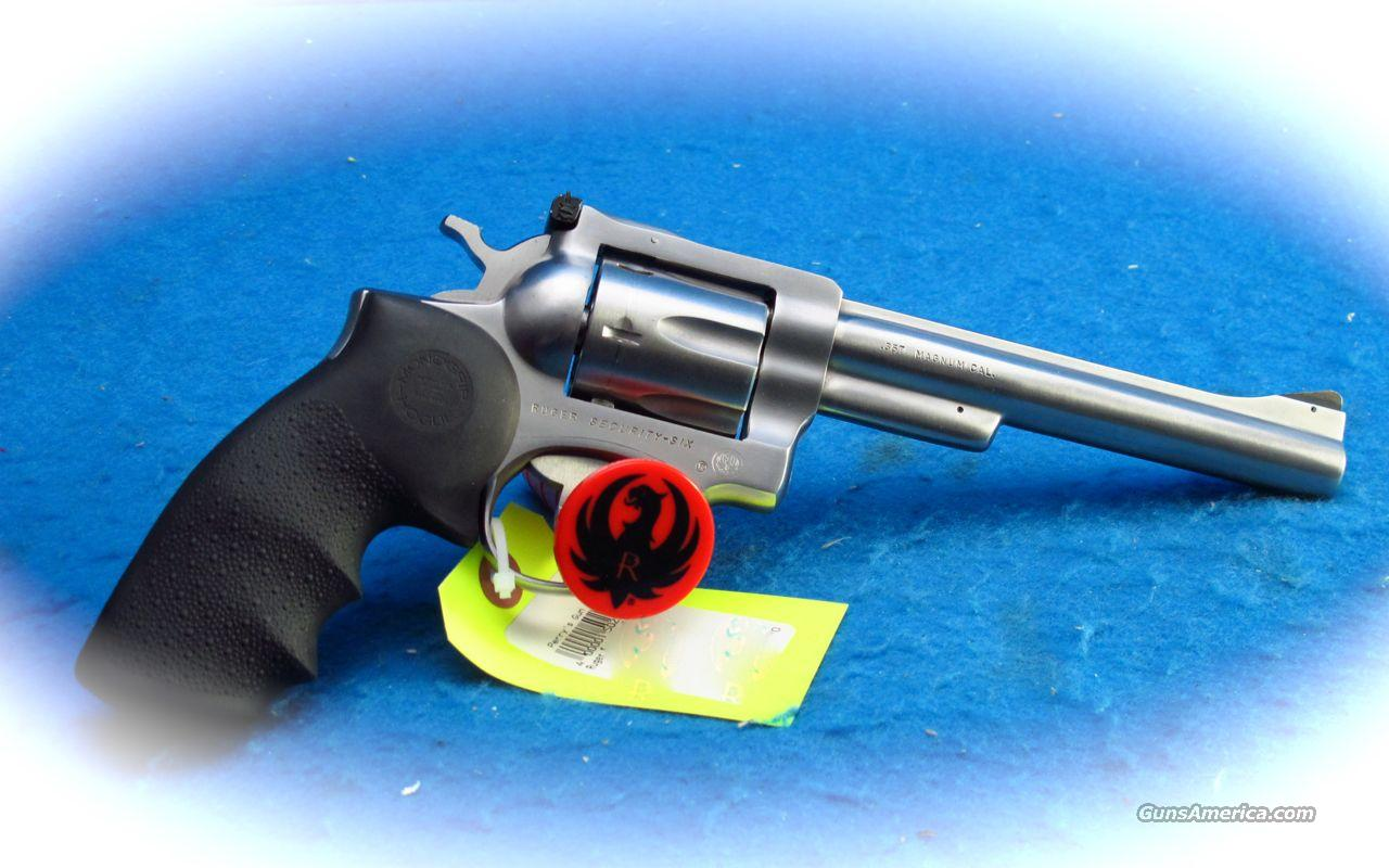 Ruger Security Six 357 Mag SS Revolver **Used**  Guns > Pistols > Ruger Double Action Revolver > Security Six Type
