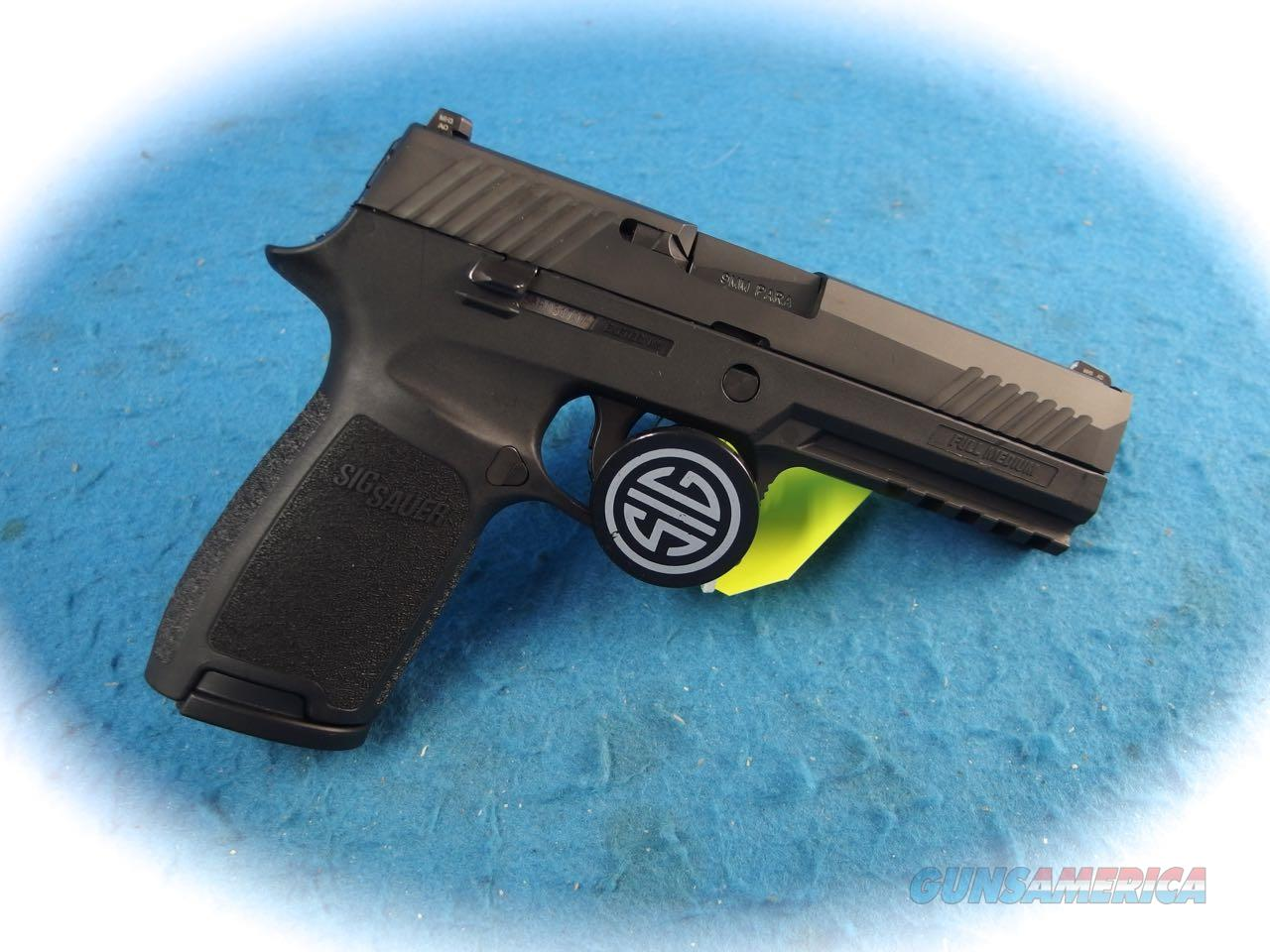 Sig Sauer P320 Full Size 9mm Semi Auto Pistol **Used**  Guns > Pistols > Sig - Sauer/Sigarms Pistols > P320