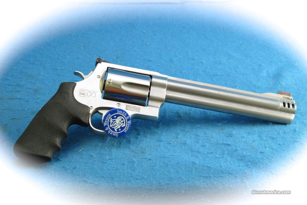 Smith & Wesson S&W500 Revolver .500 S&W Magnum Model 163501 **New**  Guns > Pistols > Smith & Wesson Revolvers > Full Frame Revolver