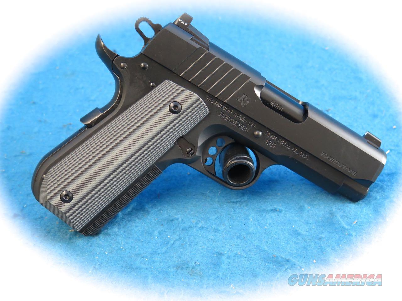 Remington 1911 R1 UL Executive .45 ACP Pistol Model 96493 **New**  Guns > Pistols > Remington Pistols - Modern > 1911