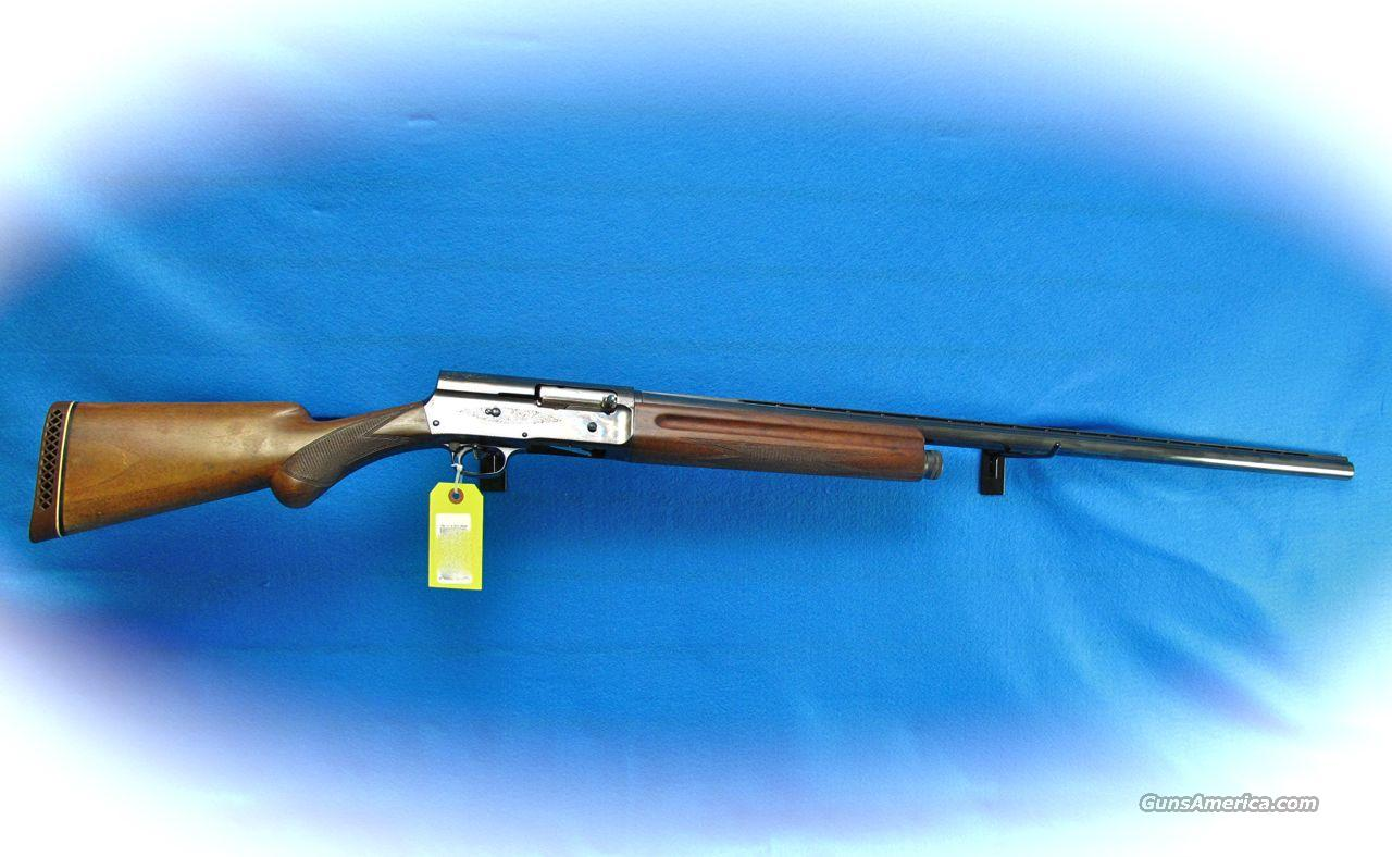 Browning A5 Magnum 12 Gauge Semi Auto Shotgun **USED**  Guns > Shotguns > Browning Shotguns > Autoloaders > Hunting
