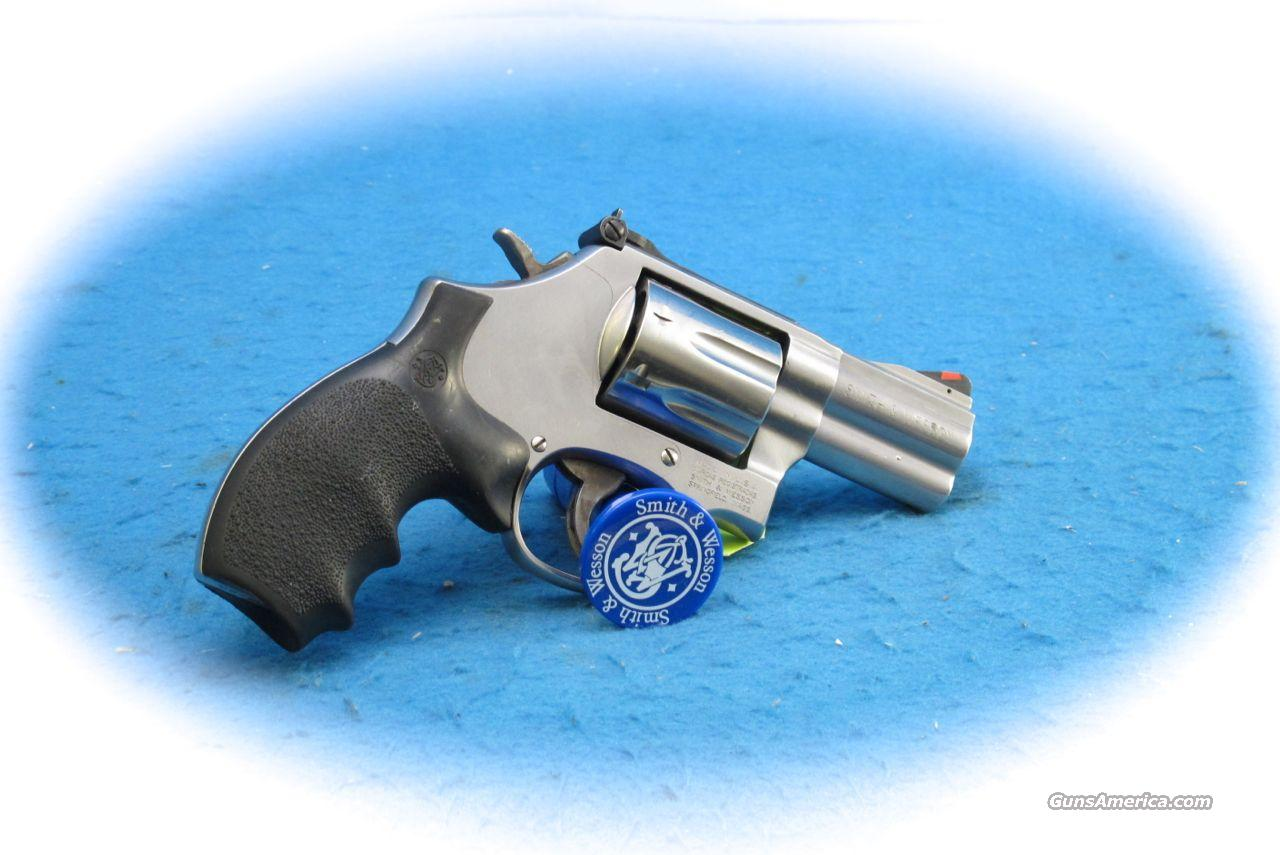 "Smith & Wesson Model 686 Plus .357 Mag 2.5 "" BBL SS **Used**  Guns > Pistols > Smith & Wesson Revolvers > Full Frame Revolver"