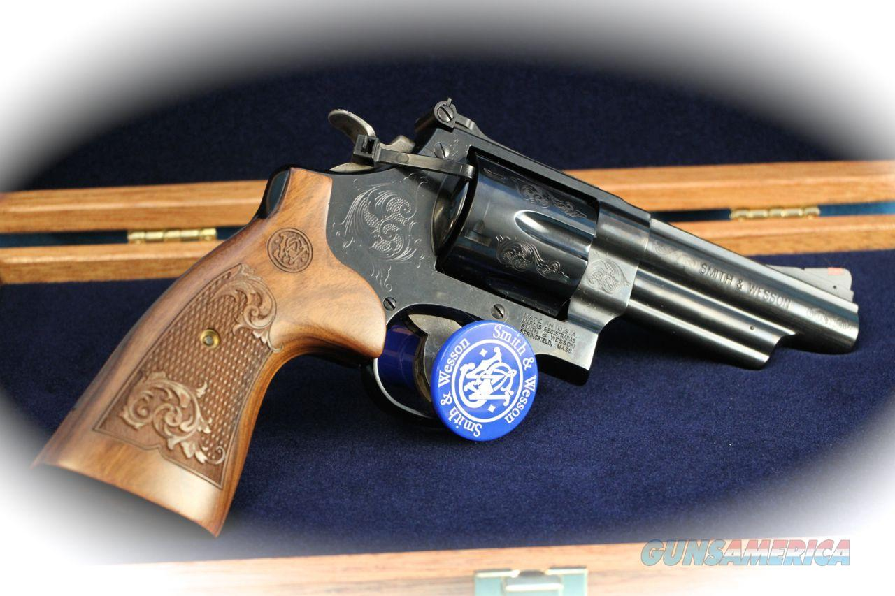 Smith & Wesson Model 29 .44 Mag Revolver Engraved **New**  Guns > Pistols > Smith & Wesson Revolvers > Full Frame Revolver