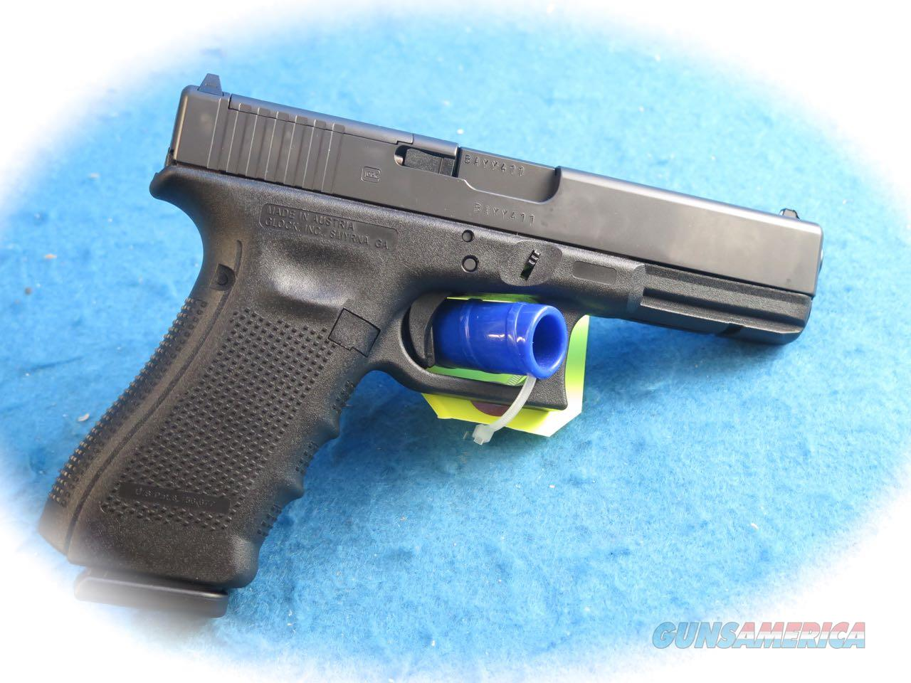 Glock Model 17 Gen 4 MOS 9mm Semi Auto Pistol **New**  Guns > Pistols > Glock Pistols > 17