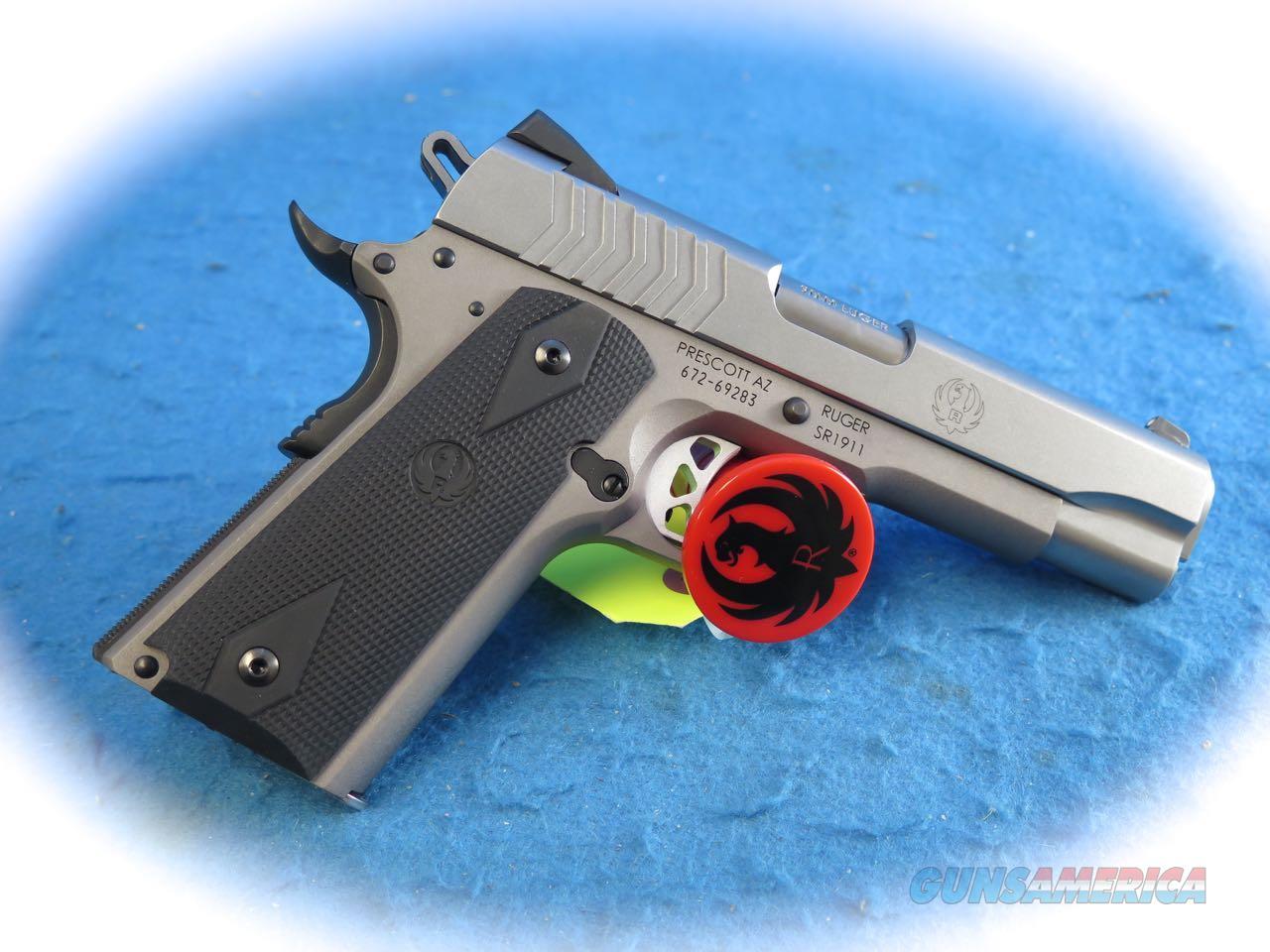Ruger SR1911 9mm Semi Auto Pistol Model 6722 **New**  Guns > Pistols > Ruger Semi-Auto Pistols > 1911