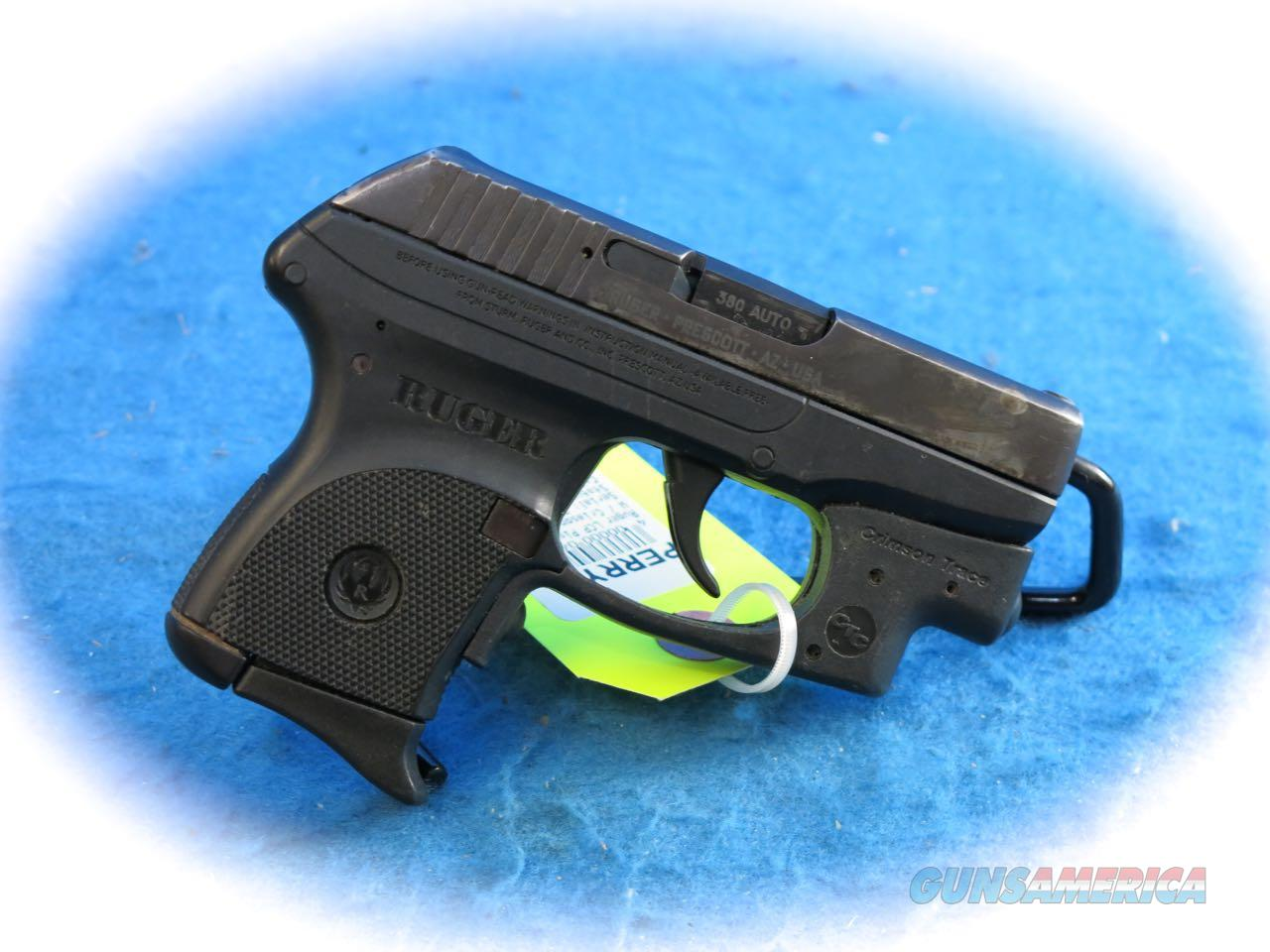 Ruger LCP-CT .380 ACP Pistol w/CT Laserguard **USED**  Guns > Pistols > Ruger Semi-Auto Pistols > LCP