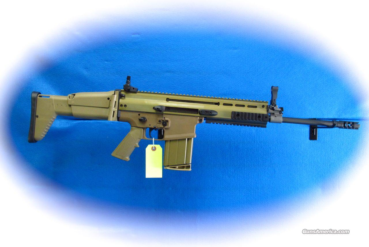 FNH FN SCAR 17S 7.62MM Semi Auto Rifle FDE **New**  Guns > Rifles > FNH - Fabrique Nationale (FN) Rifles > Semi-auto > Other
