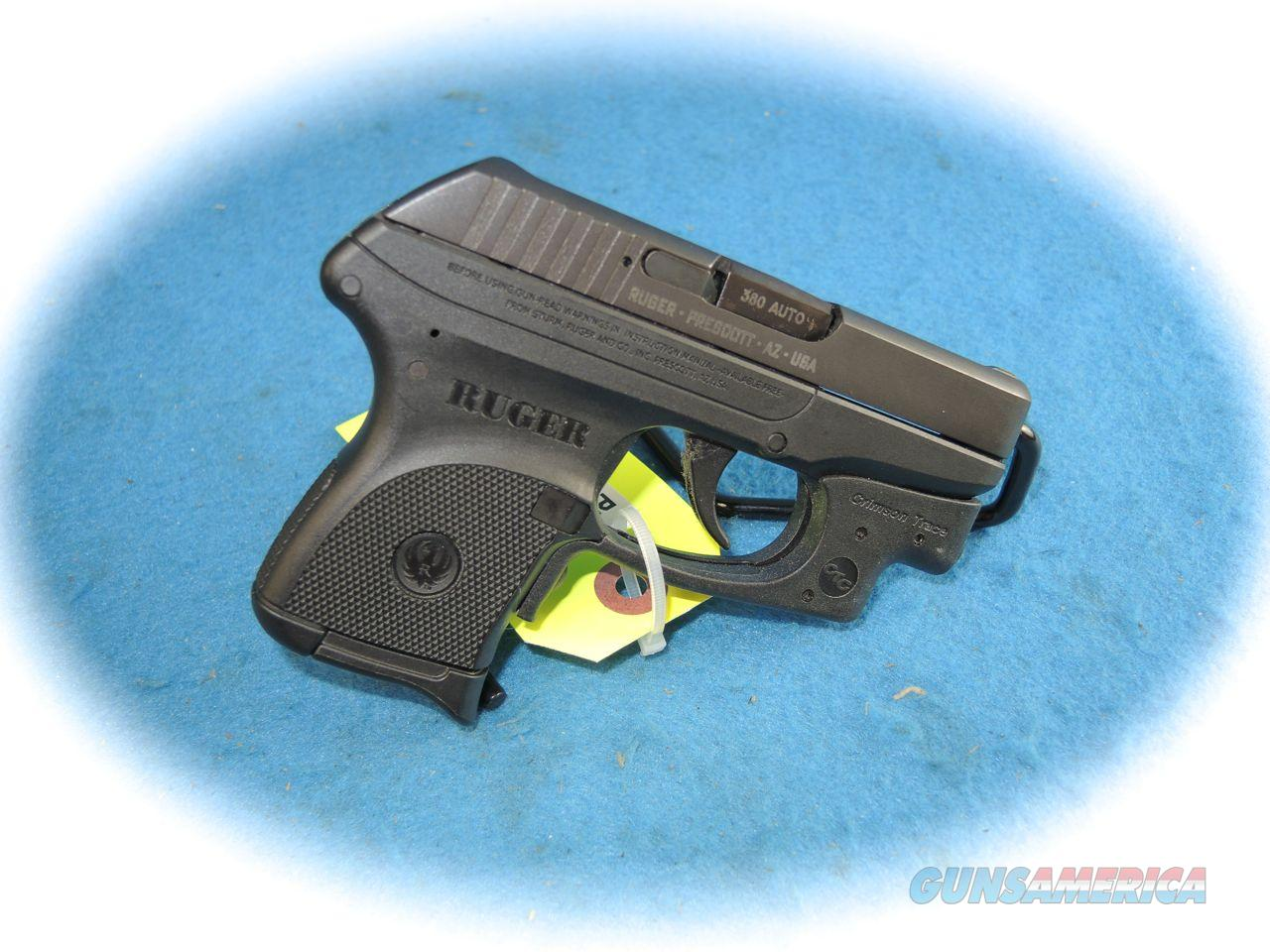Ruger LCP .380 ACP Pistol w/Crimson Trace Laser **Used**  Guns > Pistols > Ruger Semi-Auto Pistols > LCP