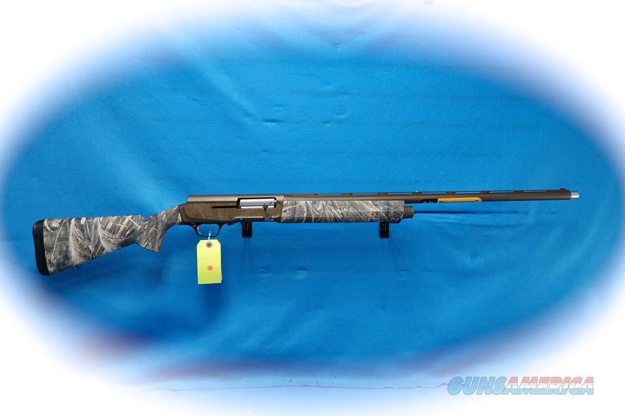 Browning A5 Wicked Wing 12 Ga. Semi Auto Shotgun Max-5 Camo **New**  Guns > Shotguns > Browning Shotguns > Autoloaders > Hunting