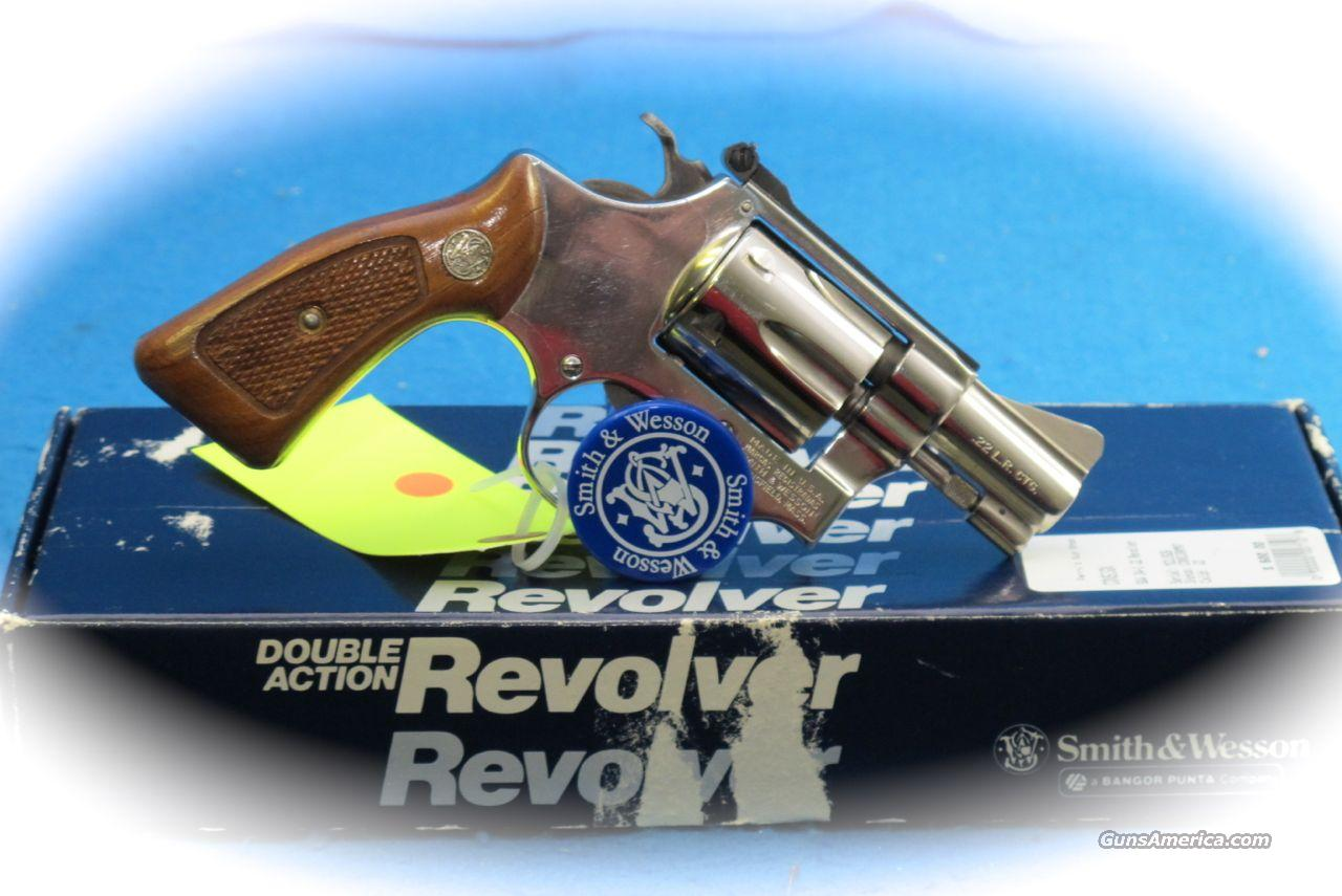 Smith & Wesson Model 34-1 .22LR Nickle Revolver **Used**  Guns > Pistols > Smith & Wesson Revolvers > Pocket Pistols